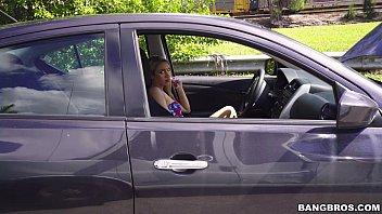 Blonde In Distress (Khloe Kapri) Is A Freak Unleashed On The Bang Bus!