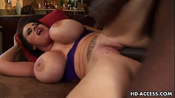 Big tit mature slut Daphne Rosen loves black dick