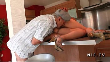 www.wordsex.com ◦ amateur young chubby french arab fucked by old man papy voyeur thumbnail