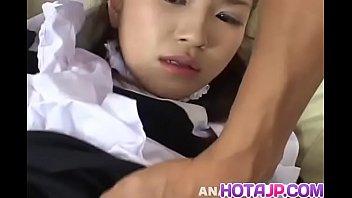 Horny maid Marin Hoshino enjoys sex with younger man - More at hotajp com Thumb