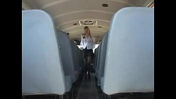 In The Schoolbus-2 cute schoolgirl blow and fuck . HD - 69VClub.Com
