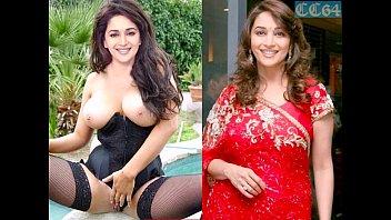 Madhuri Dixit boobs and naked body (fake) display thumbnail