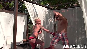 German Tattoo Model And Porn Star Kitty Core Gets Fucked By Mugur While Giving A Outdoor Pro Porn Statement With Her Big Bimbo Boobs