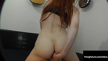 Ginger Bush Beauty Penny Pax Ass banged By Fat Cock Roomie!