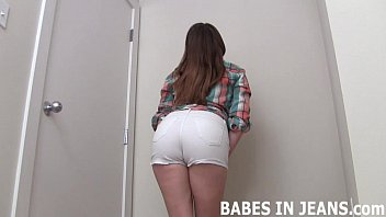 These tight jeans are so tight and sexy JOI