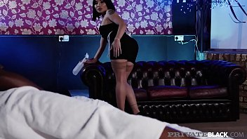 Privateblack - Asian Hottie Rina Ellis Takes Bbc Load Of Cum