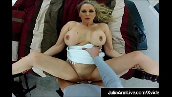 Mega Milf Julia Ann Rammed From Behind & Cum Popped On Ass! pornhub video