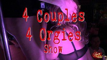 4 Couples 4 Orgies swinger party Show