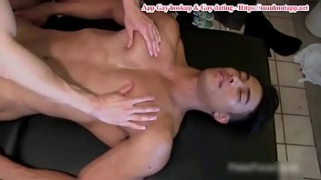 Cute Young Stepson Is Tied Up By Stepdad With His Uncle