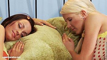 Anal dildo play on Sapphic Erotica with Wanda and Simona