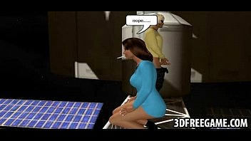 3d space xxx odyssey These sexy 3d babes in a hot space threesome are fucking