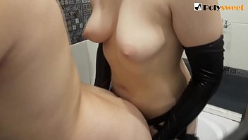FIRST ANAL IN THE BATHROOM, MY BOY CUM AND ANAL ORGASM AND AFTER I FUCKED HIM STILL