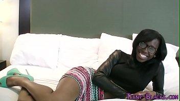 Ebony teenager face jizz 8 min