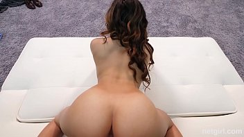 A mixed ass Big booty mixed girl rides a mean dick