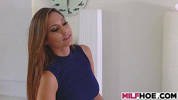 Milf is a mum - Stunning stepmother is a sexy teacher