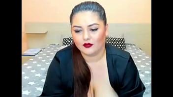 Beautiful boobs in red bra