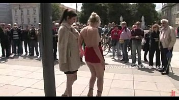 Public sex and humiliation video