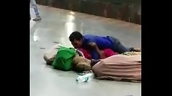 Sex trains videos Desi couple having sex in public