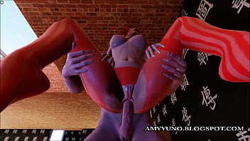 3d porn links Red devil 3d babe stuffed with a big cock