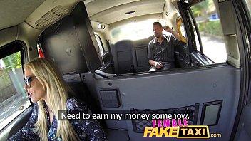 Female Fake Taxi Cocky Fella Shown Who's The Boss