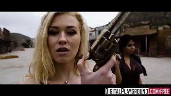 Cross-dressing fuck Digitalplayground - rawhide scene 1 misha cross emilio ardana