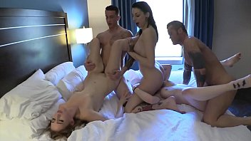 Slut Orgy With A Petite Redhead Teen