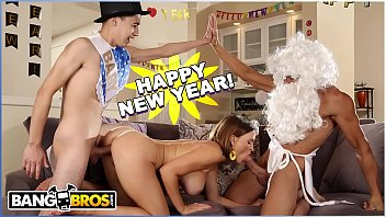 BANGBROS - New Years Eve Fuck Session With Krissy Lynn, Juan El Caballo Loco and Tommy Gunn Thumb