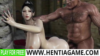 Fantasy Babe Fucked by Gaint Cock Until She Cums# preview image