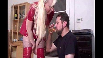Forced piss drinking femdom Piss drinking 1