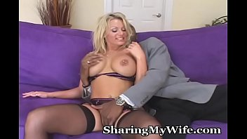 Busty Babe Goes Wild For New Cock
