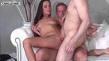 Mea Melone get double anal trial with two amateurs preview image