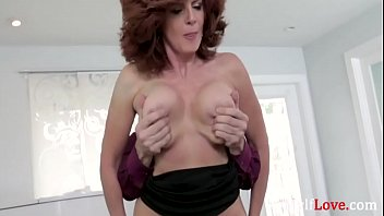 Old MILF Makes Love To Young Cock- Andi James
