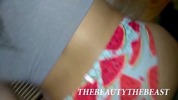 Fucking Air Bnbs Guest's Girlfriend On Kitchen Table Ft. Thong Fucking POV