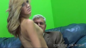 Vicious blonde emily kae fucks and older dude