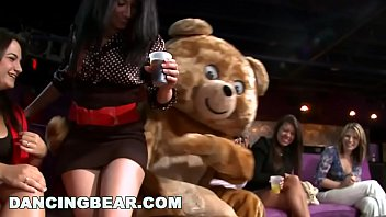 DANCING BEAR - Insane CFNM Party With Crazy, Wild Women Going Hard thumbnail