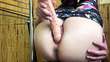 Stepfather Caught Stepdaughter Masturbating and Spanked Her Ass and Fucked Hard