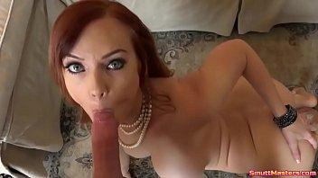 Super Hot Redhead Fucks Doggy Style