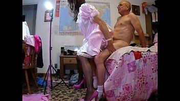 Mature slut shemales - Pink sissy analgasm