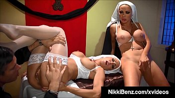 Nuns getting fucked by a priest Catholics nikki benz jessica jaymes fuck man of the cloth
