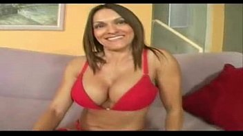 Natural breast milf dancing Soccer mom with big natural breasts dancing in her underwear