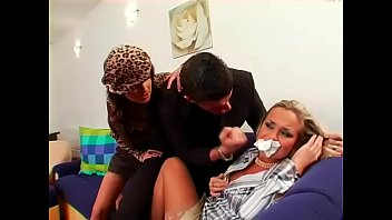 Free forced sex tube porn Hot babe compulsory into lesbian sex