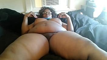 Damita gangbang Ms ann aka aunt dee getting ready for her 3 young latino big dicks
