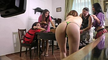 Do you like Billiards? An insteresting game with some short skirted tiny thong ladies.