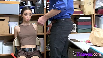 Scarlett gets LOADS of discipline by NASTY guard thumbnail