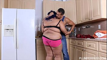 Angry BBW Babe is Calmed and Fucked by Hubby's Friend