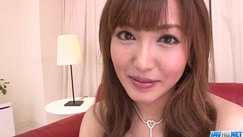 Mami Asakura feels toys over her moist pussy
