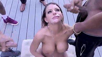 Black sluts blow job - Beautiful brooklyn love interracial blowbang