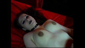 Gothic Girl Nadine Cays Fucking Hard Creampie