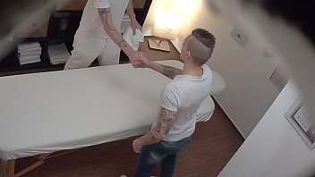 Gay nnude guys Young straight guy gets anal fuck on massage table