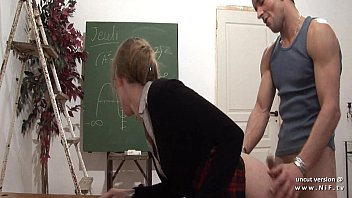 L a nude Naughty french teacher hard sodomized and fist fucked at school